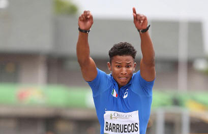 MONDIALI JUNIORES, BARRUECOS IN FINALE