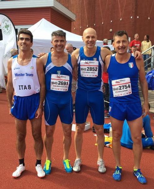 Europei master sette medaglie per gli atleti veneti for Voltan tortellini