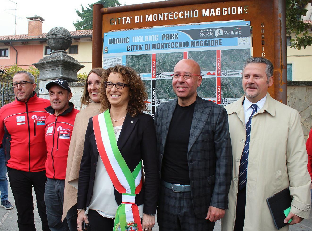 Nordic Walking Vicenza Calendario.A Montecchio Maggiore Il Piu Grande Nordic Walking Park D