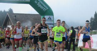 Cansiglio Run_la partenza della 34 km