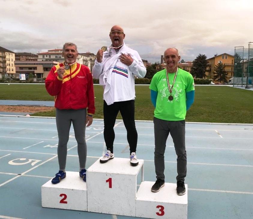 Master pentathlon lanci mezza maratona e il primato di for Voltan tortellini