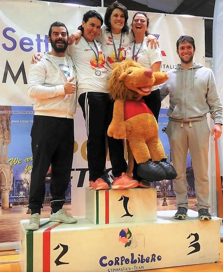 Master da record ai campionati regionali indoor fidal veneto for Voltan tortellini